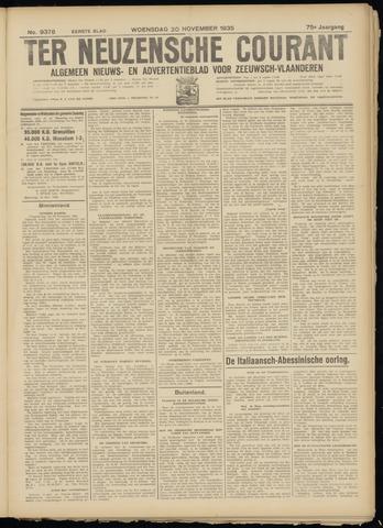 Ter Neuzensche Courant. Algemeen Nieuws- en Advertentieblad voor Zeeuwsch-Vlaanderen / Neuzensche Courant ... (idem) / (Algemeen) nieuws en advertentieblad voor Zeeuwsch-Vlaanderen 1935-11-20
