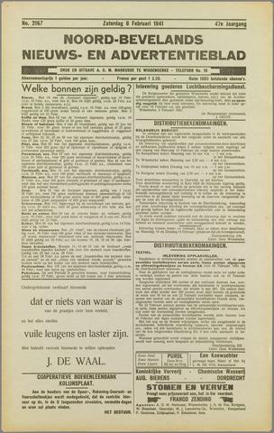 Noord-Bevelands Nieuws- en advertentieblad 1941-02-08