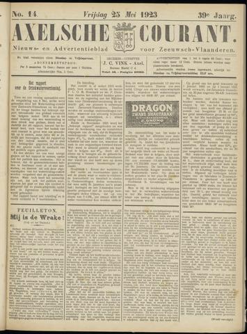 Axelsche Courant 1923-05-25