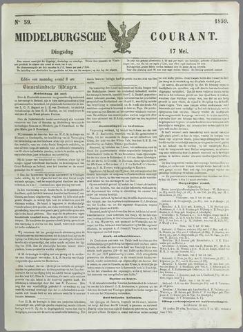 Middelburgsche Courant 1859-05-17
