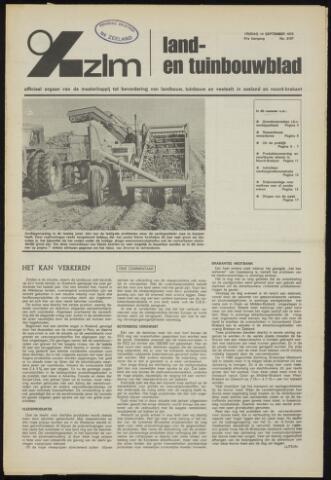 Zeeuwsch landbouwblad ... ZLM land- en tuinbouwblad 1973-09-14