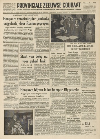 Provinciale Zeeuwse Courant 1956-12-03