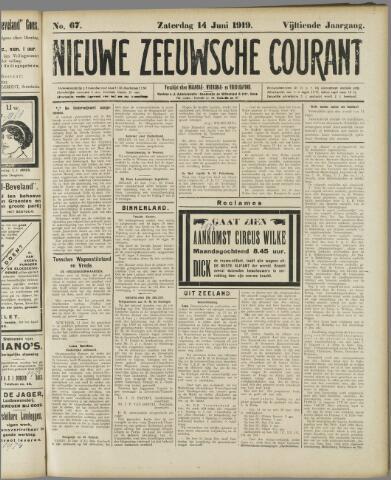 Nieuwe Zeeuwsche Courant 1919-06-14