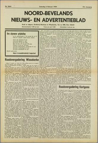 Noord-Bevelands Nieuws- en advertentieblad 1954-02-06