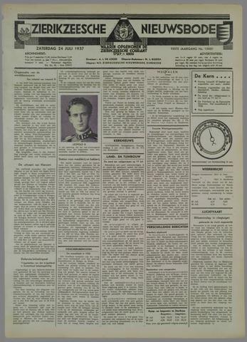 Zierikzeesche Nieuwsbode 1937-07-24