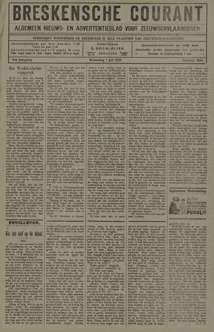 Breskensche Courant 1925-07-01