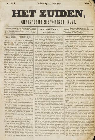 Het Zuiden, Christelijk-historisch blad 1880-01-13