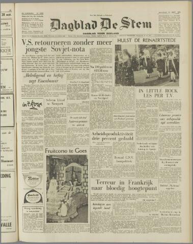 de Stem 1958-09-22