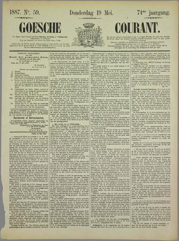 Goessche Courant 1887-05-19