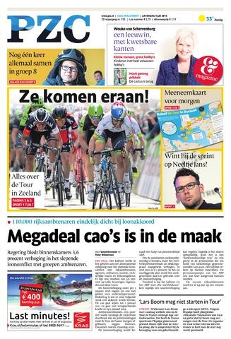 Provinciale Zeeuwse Courant 2015-07-04