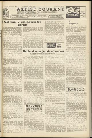 Axelsche Courant 1957-05-11