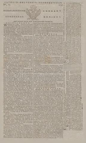 Middelburgsche Courant 1797