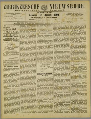 Zierikzeesche Nieuwsbode 1902-01-18