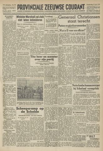 Provinciale Zeeuwse Courant 1948-07-22