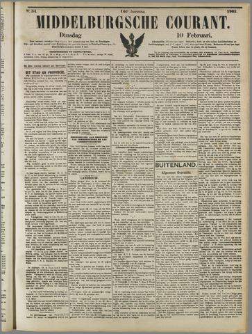 Middelburgsche Courant 1903-02-10