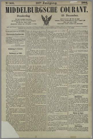 Middelburgsche Courant 1884-12-25
