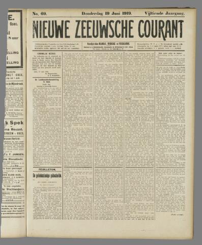 Nieuwe Zeeuwsche Courant 1919-06-19