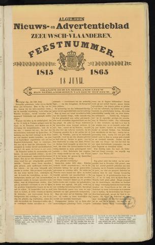 Ter Neuzensche Courant. Algemeen Nieuws- en Advertentieblad voor Zeeuwsch-Vlaanderen / Neuzensche Courant ... (idem) / (Algemeen) nieuws en advertentieblad voor Zeeuwsch-Vlaanderen 1865-06-18