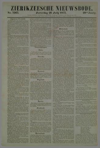 Zierikzeesche Nieuwsbode 1873-07-26