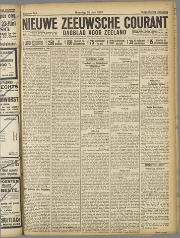 Nieuwe Zeeuwsche Courant 1923-06-25