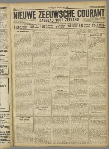 Nieuwe Zeeuwsche Courant 1921-12-20