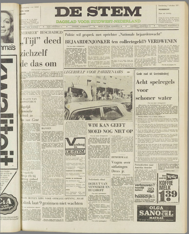 de Stem 1971-10-07