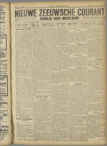 Nieuwe Zeeuwsche Courant 1921-10-14