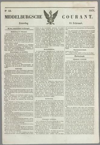 Middelburgsche Courant 1871-02-18