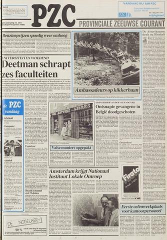 Provinciale Zeeuwse Courant 1986-08-29