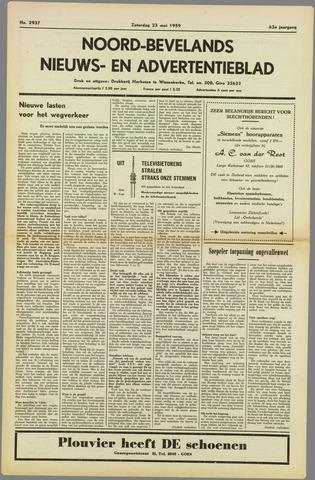 Noord-Bevelands Nieuws- en advertentieblad 1959-05-23