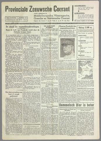 Provinciale Zeeuwse Courant 1940-06-26