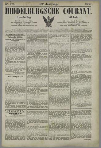 Middelburgsche Courant 1888-07-26