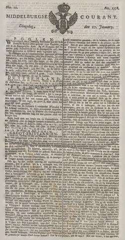 Middelburgsche Courant 1778-01-27