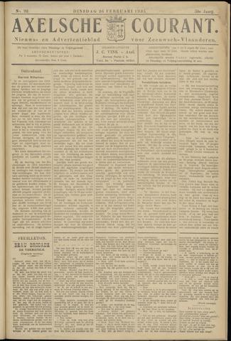 Axelsche Courant 1935-02-26