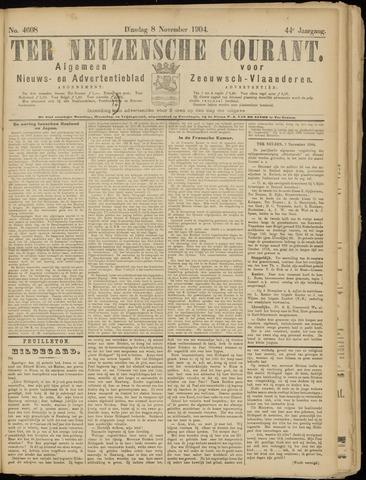 Ter Neuzensche Courant. Algemeen Nieuws- en Advertentieblad voor Zeeuwsch-Vlaanderen / Neuzensche Courant ... (idem) / (Algemeen) nieuws en advertentieblad voor Zeeuwsch-Vlaanderen 1904-11-08