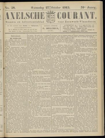 Axelsche Courant 1915-10-27