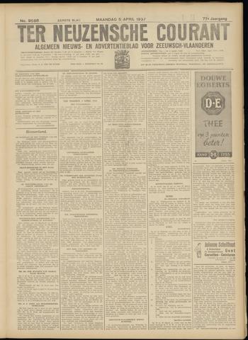 Ter Neuzensche Courant. Algemeen Nieuws- en Advertentieblad voor Zeeuwsch-Vlaanderen / Neuzensche Courant ... (idem) / (Algemeen) nieuws en advertentieblad voor Zeeuwsch-Vlaanderen 1937-04-05