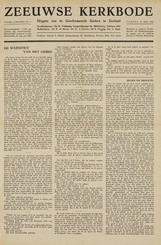 Zeeuwsche kerkbode, weekblad gewijd aan de belangen der gereformeerde kerken/ Zeeuwsch kerkblad 1948-07-23