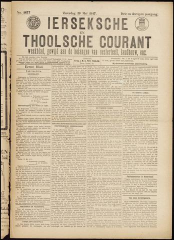 Ierseksche en Thoolsche Courant 1917-05-19