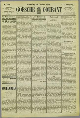 Goessche Courant 1927-10-19