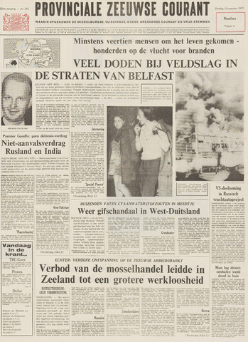 Provinciale Zeeuwse Courant 1971-08-10