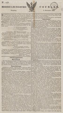 Middelburgsche Courant 1832-12-11