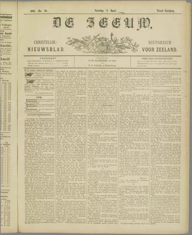 De Zeeuw. Christelijk-historisch nieuwsblad voor Zeeland 1896-04-04