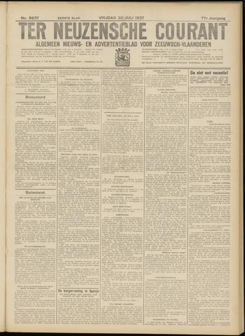 Ter Neuzensche Courant. Algemeen Nieuws- en Advertentieblad voor Zeeuwsch-Vlaanderen / Neuzensche Courant ... (idem) / (Algemeen) nieuws en advertentieblad voor Zeeuwsch-Vlaanderen 1937-07-30