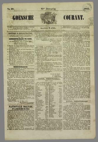 Goessche Courant 1855-04-02