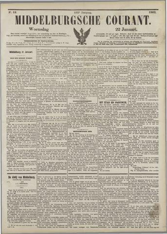 Middelburgsche Courant 1902-01-22