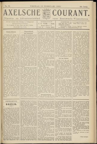 Axelsche Courant 1931-02-13