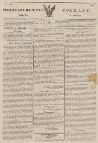 Middelburgsche Courant 1844-11-28