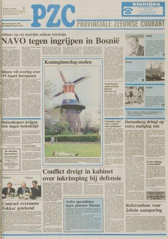 Provinciale Zeeuwse Courant 1993-04-28