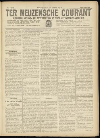 Ter Neuzensche Courant. Algemeen Nieuws- en Advertentieblad voor Zeeuwsch-Vlaanderen / Neuzensche Courant ... (idem) / (Algemeen) nieuws en advertentieblad voor Zeeuwsch-Vlaanderen 1940-10-02